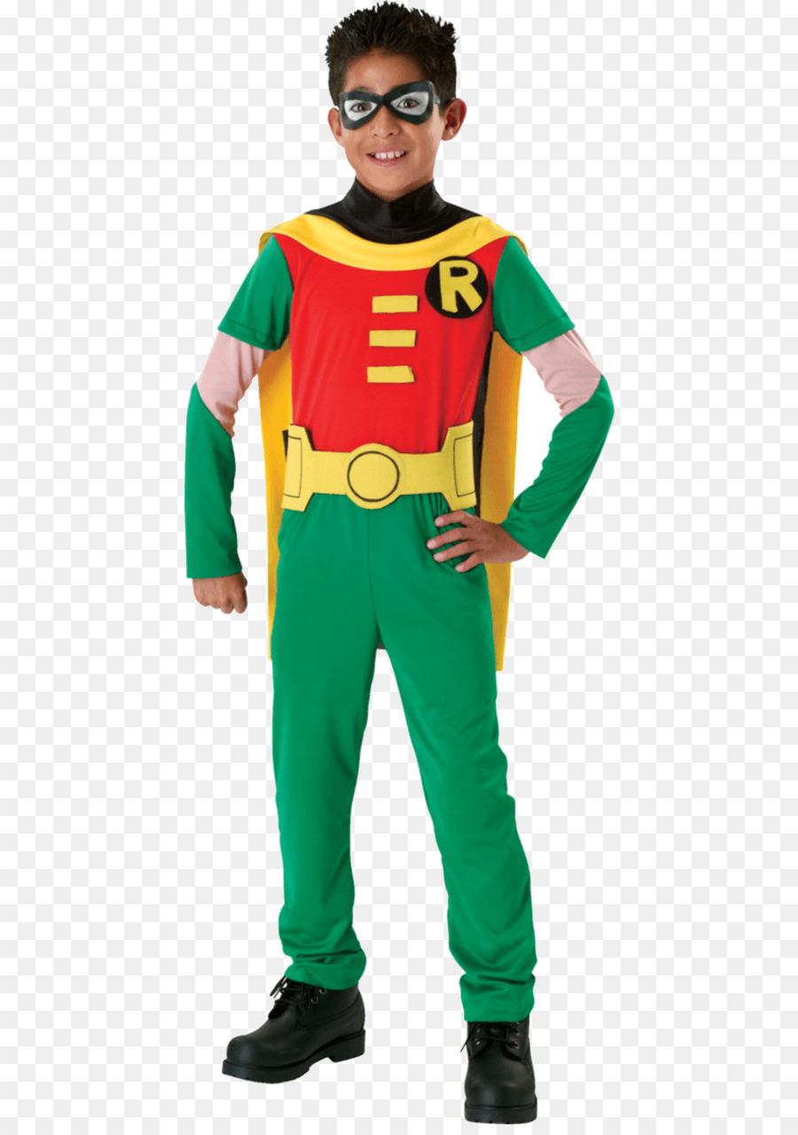 robin teen titans go! batman costume party - robin png download