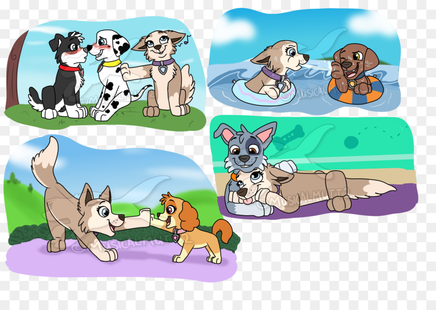 3d109fcc91b Dog YouTube Rocky Tundra Patrol - doodles png download - 1300 900 - Free  Transparent Dog png Download.