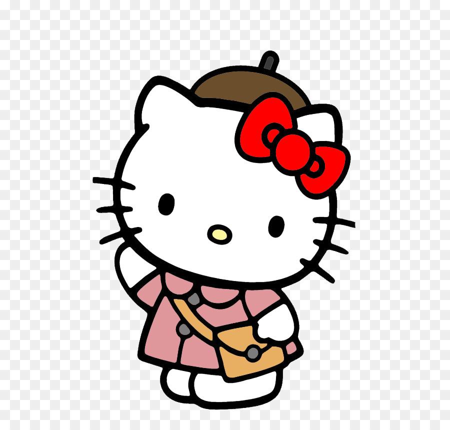 Hello Kitty Online Dibujo para Colorear libro - hola png dibujo ...