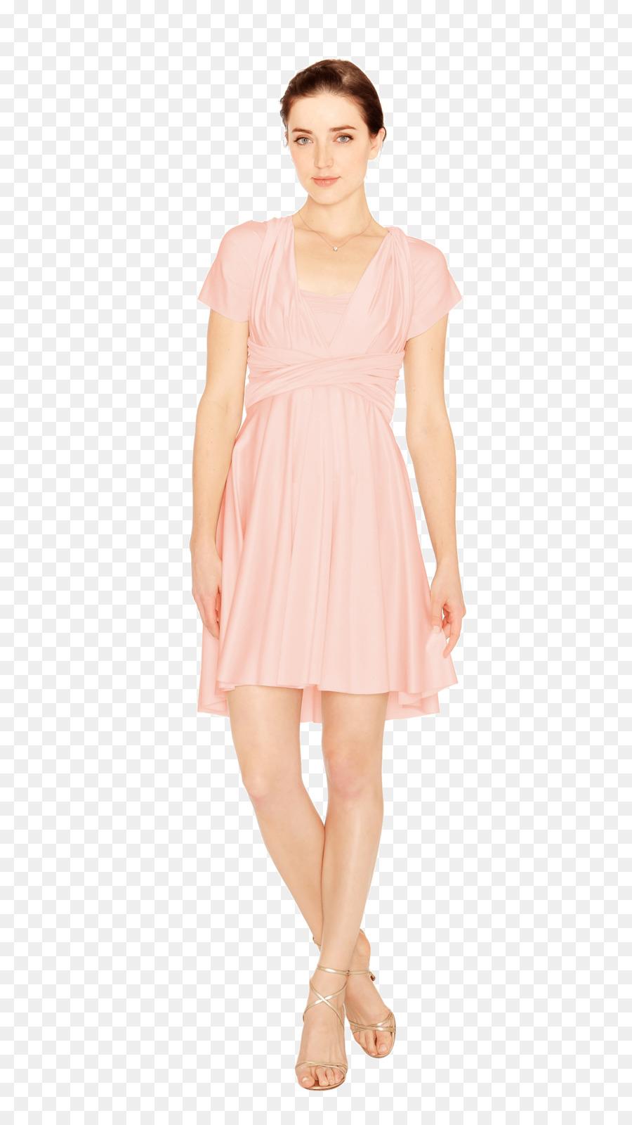 Vestido de cóctel T-shirt Ropa de Melissa Odabash - blush floral ...