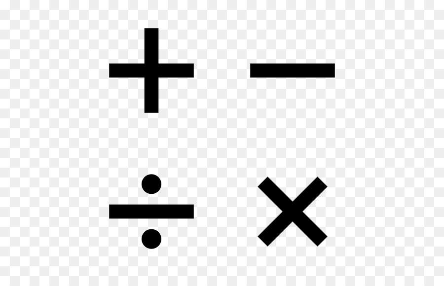 Mathematical Notation Operation Mathematics Symbol Sign