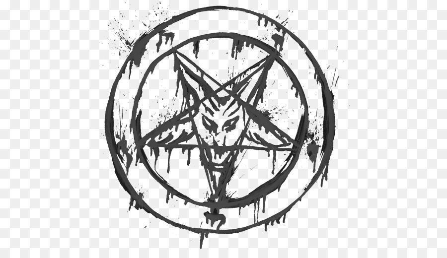 Pentagram Sigil Of Baphomet Symbol Satanism Kim Jong Un Png