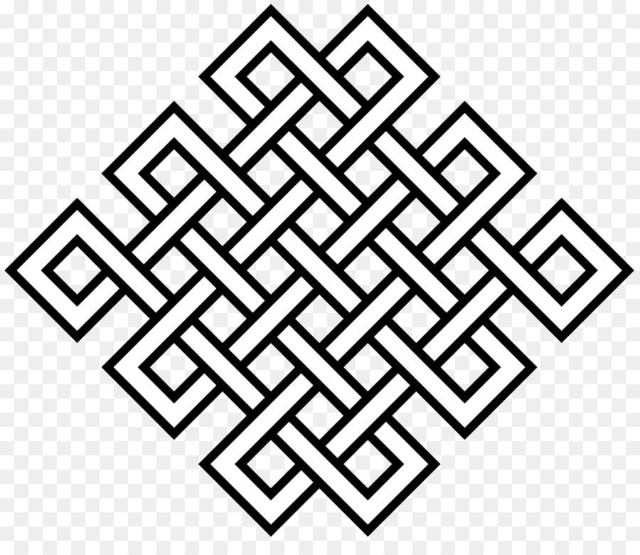 Tibetan Buddhism Endless Knot Symbol Ashtamangala
