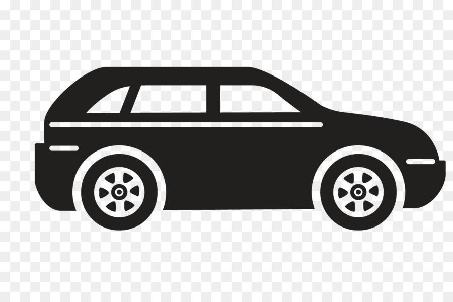 Auto Cartoon Schwarz Weiß