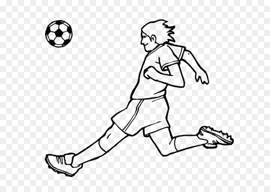 Football Coloring book Sport Calcio a 7 Ausmalbild - FUTBOL png ...