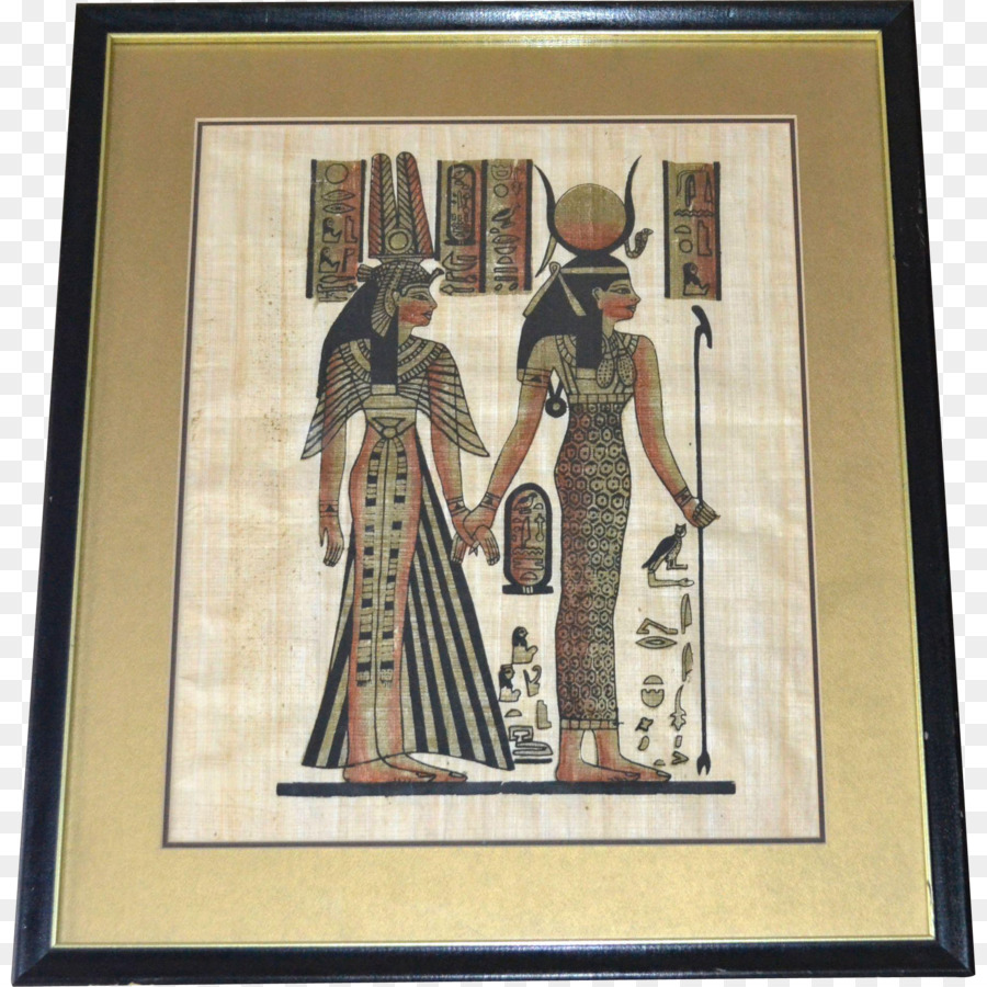 Ancient Egypt Art Picture Frames Papyrus Painting - Egyptian Gods ...