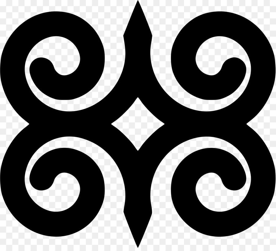Adinkra Symbols Ghana Akan Clip Art Strength Png Download 2081