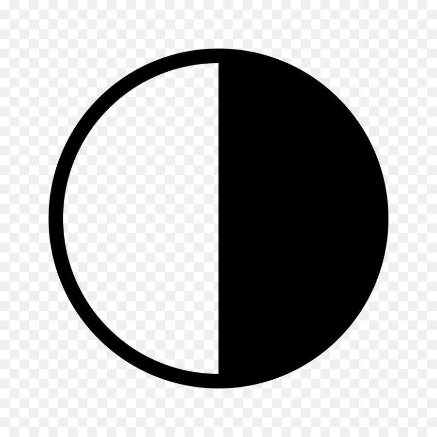 Fresh Computer Icons Circle Clip art - half moon png download - 1024  HV44
