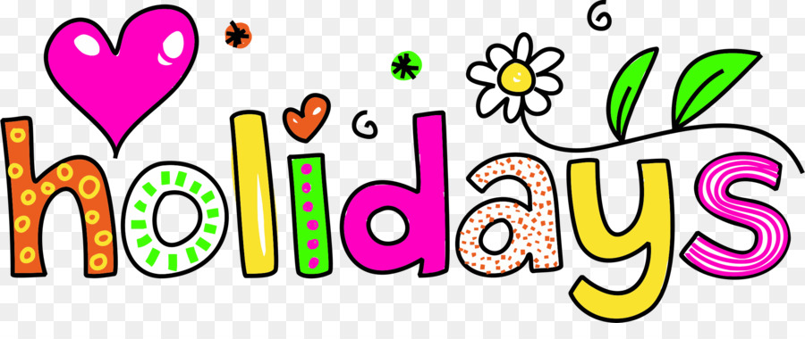 School holiday Christmas Clip art - happy spring png ...