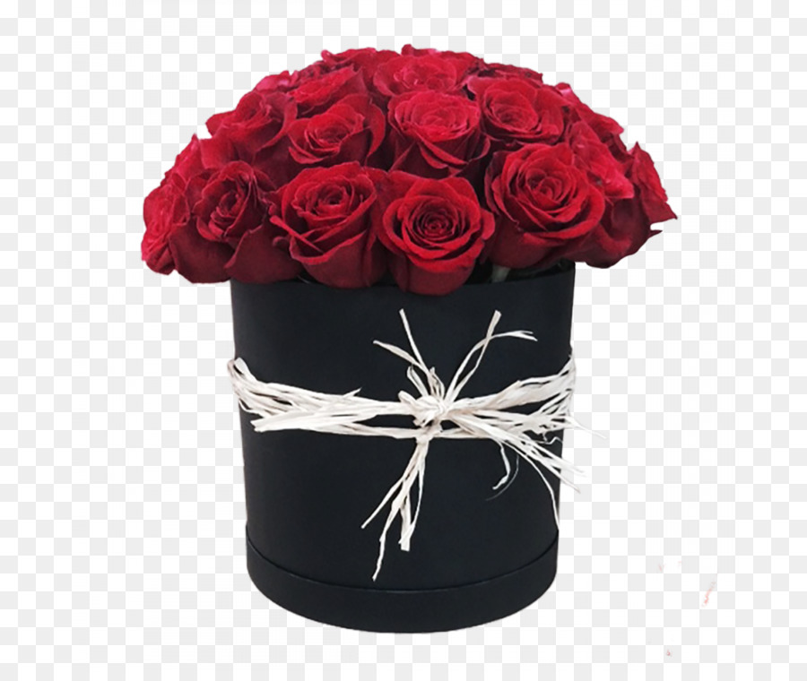 Cut flowers Rose Flower delivery Flower bouquet - flower box png ...