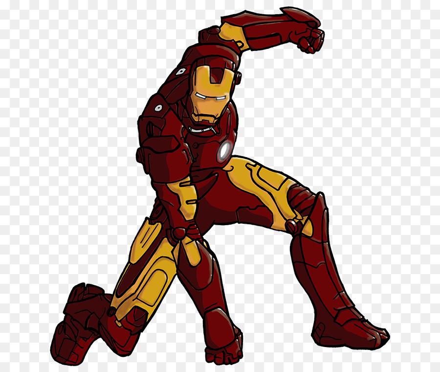 Hombre De Hierro Máquina De Guerra Superhéroe De Color De Dibujo ...