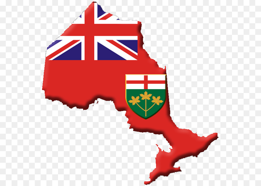 Flag Of Ontario Flag Of Australia Map Indonesia Map Png Download