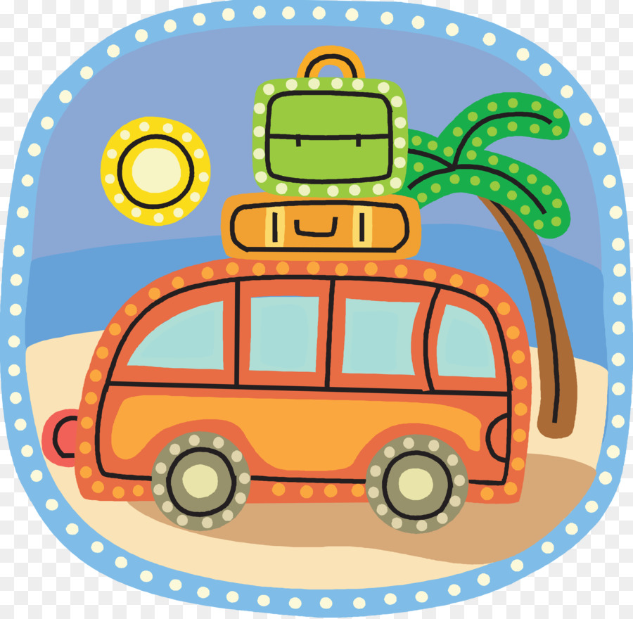 Travel Itinerary Road Trip Clip Art