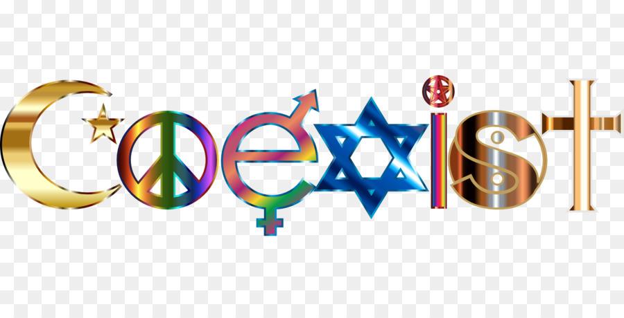 Coexist Religion Belief Religious Education Clip Art Peace Symbol