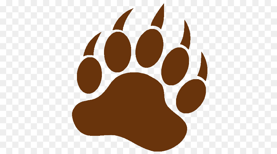 american black bear bear claw brown bear clip art claw png rh kisspng com Bear Claw Print Clip Art bear claw clipart