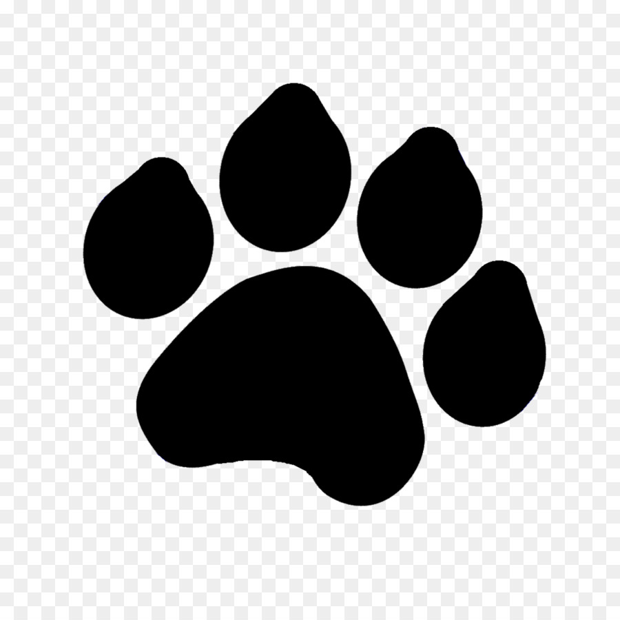 tiger paw drawing dog clip art paw png download 1095 Paw Print Page Border Printable Animal Paw Print Border