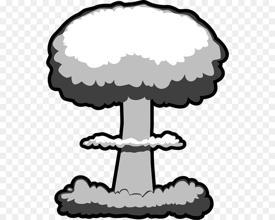 nuclear explosion nuclear weapon mushroom cloud clip art powder rh kisspng com