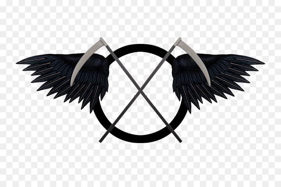 Death Reaper Hades Symbol Logo Grim Reaper Png Download 800600