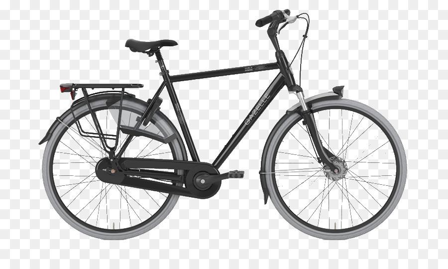 Gazelle City bicycle Bicycle Frames Bicycle Shop - gazelle png ...