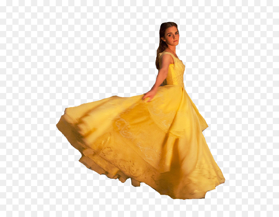 Belle Beast Wedding dress Costume - beauty and the beast png ...