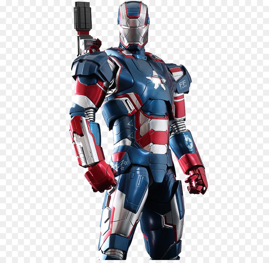 Sentinel Iron Patriot Captain America Man Figure