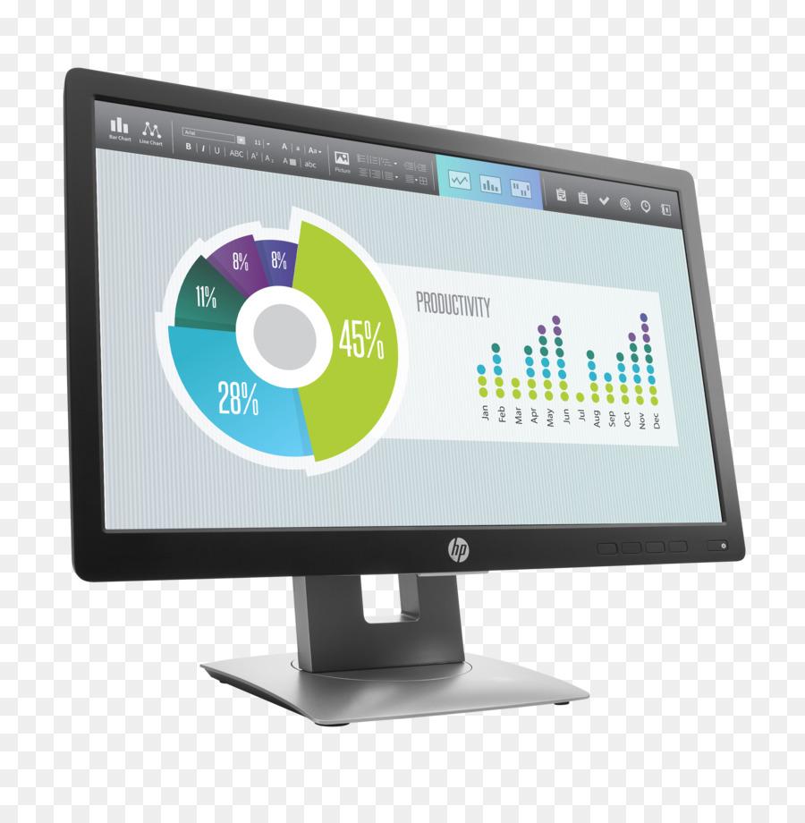 Computer Monitors Hewlett Packard Led Backlit Lcd Liquid Crystal Display Backlight
