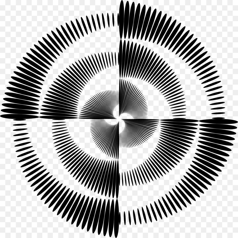 optical illusion optics op art vortex png download 2312 2312