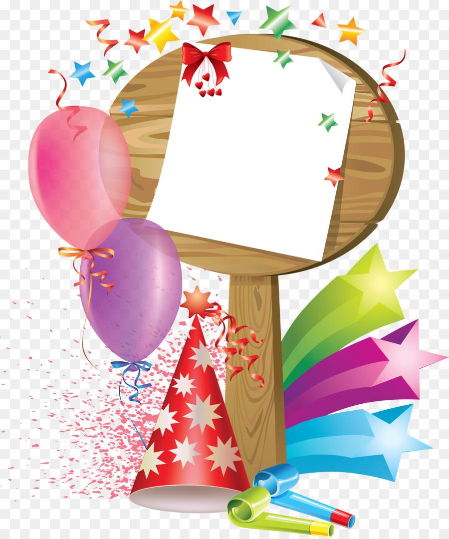 Cumpleaños Marcos para fotos de Felicitación Y Tarjetas de notas de ...