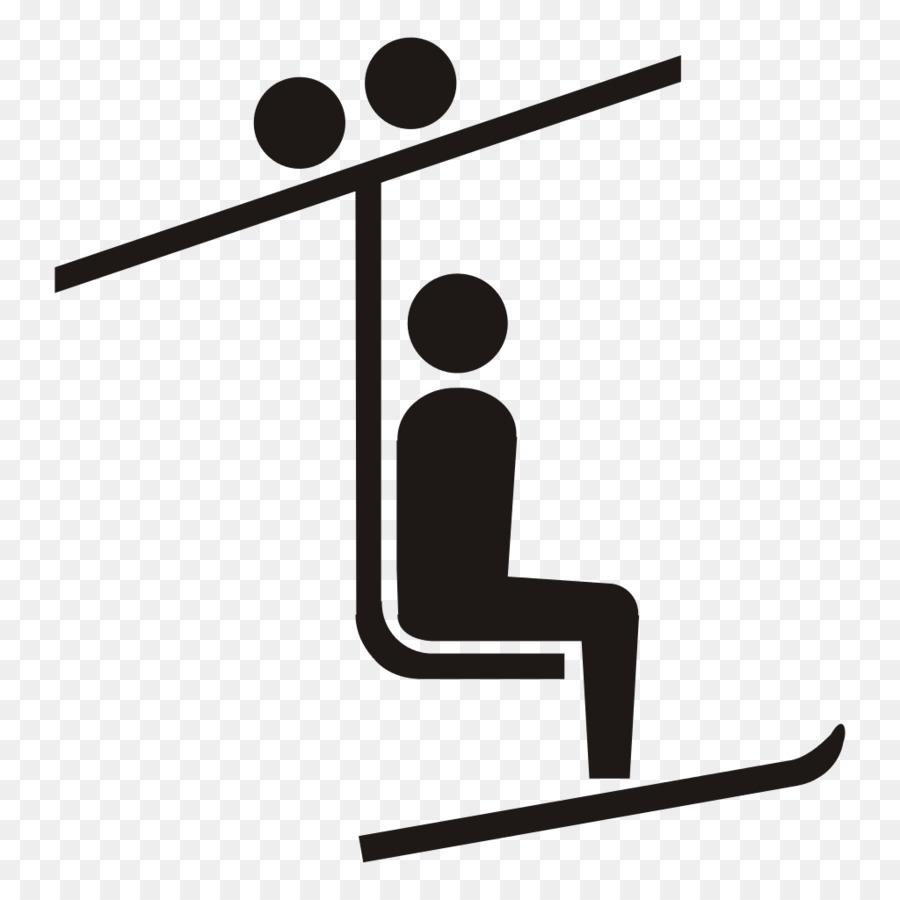 Skilift Ski Seilbahn Sessellift Clipart Skifahren Png