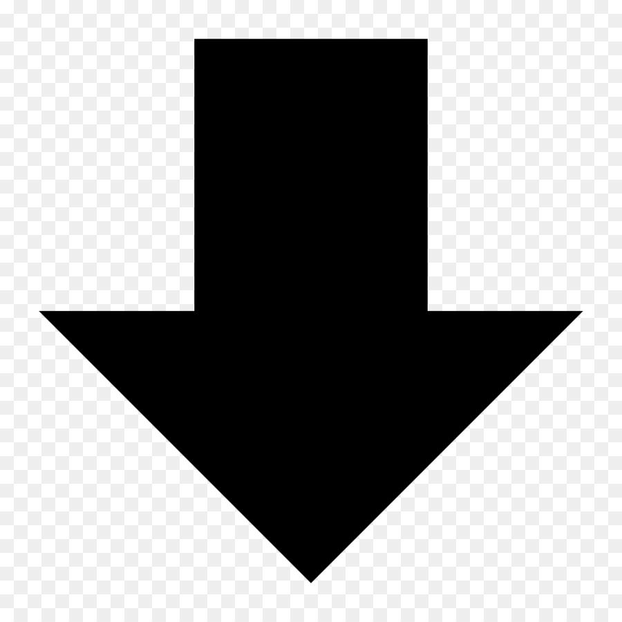 Arrow Down Pixel Arrow Android Down Arrow Png Download 10241024