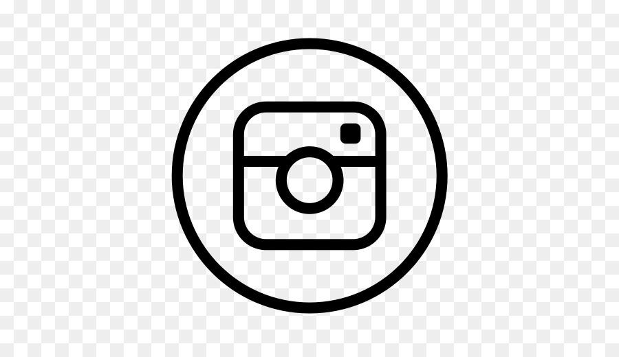 Logo black and white instagram logo