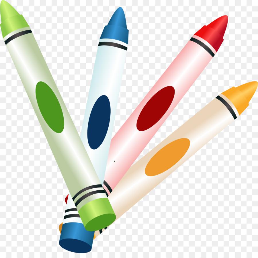 Pensil warna Crayola - pensil warna png unduh - 3592*3525 ...