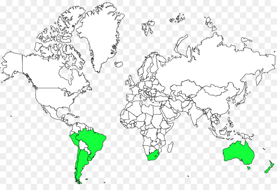 World Map Coloring Book Globe Albatross Png Download 1080 740