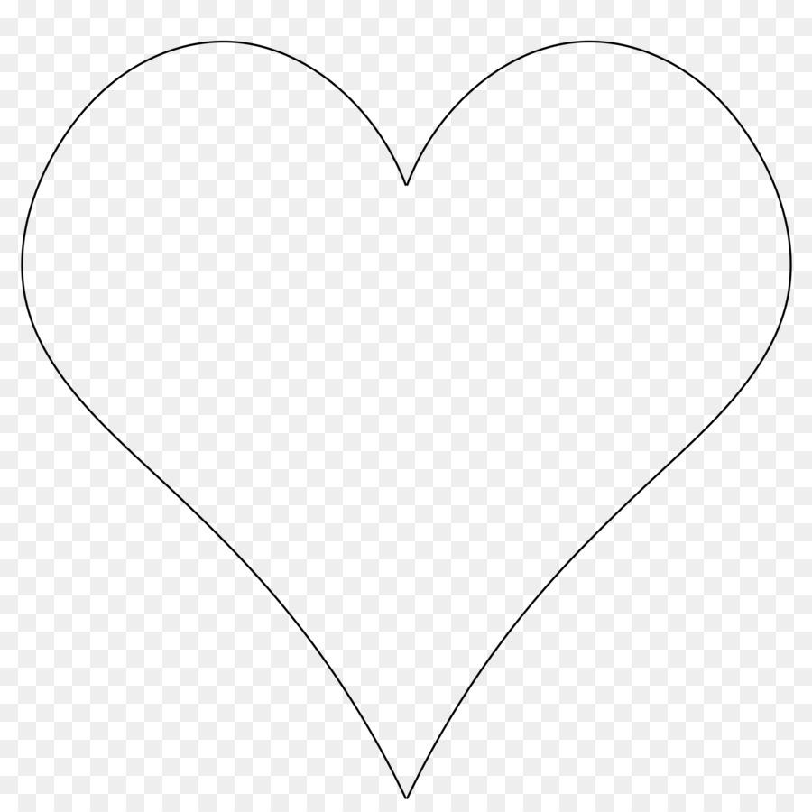 Heart Drawing Symbol Shape Clip Art Heart Outline Png Download