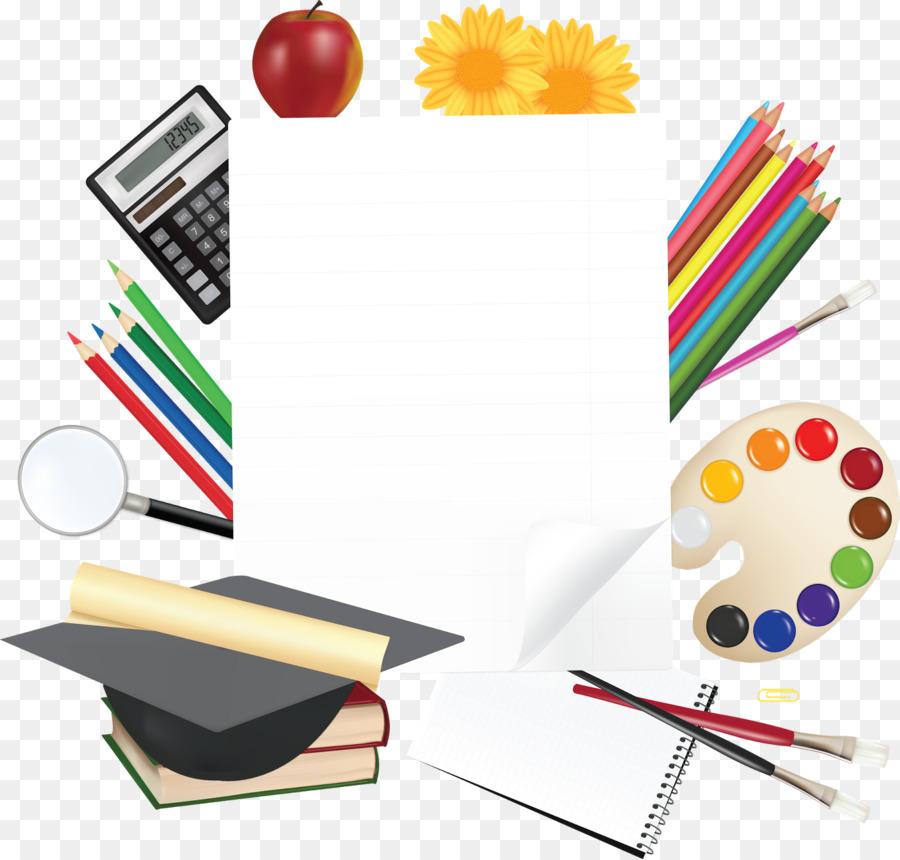 School, School Supplies, Desktop Wallpaper, Material, Graphic Design PNG