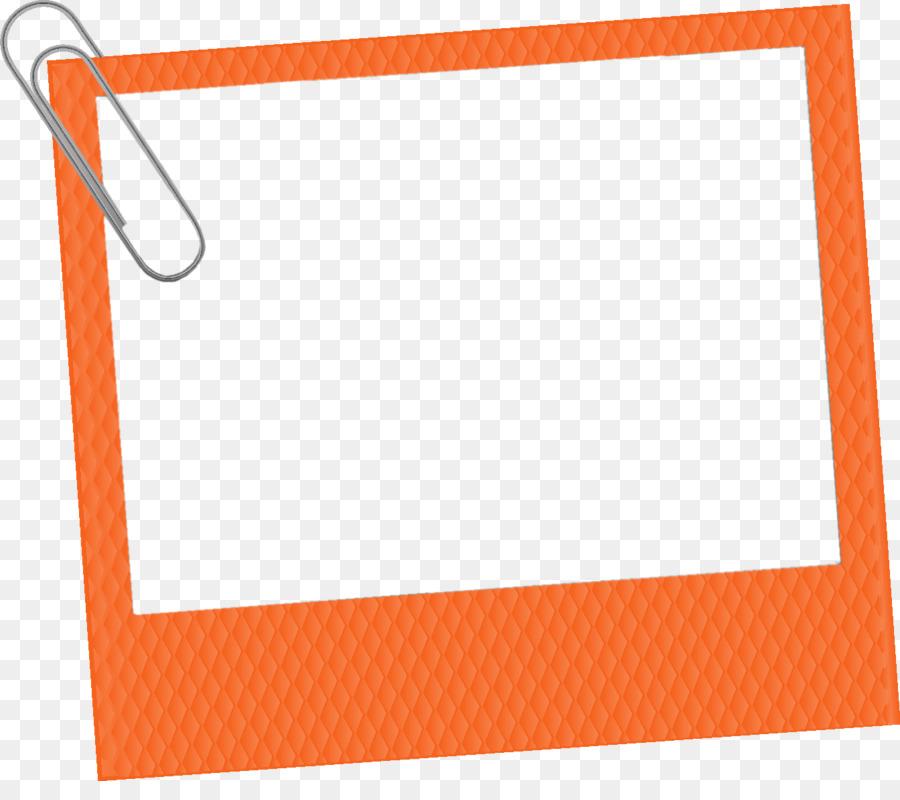 Picture Frames Orange Photography Clip art - orange frame png ...