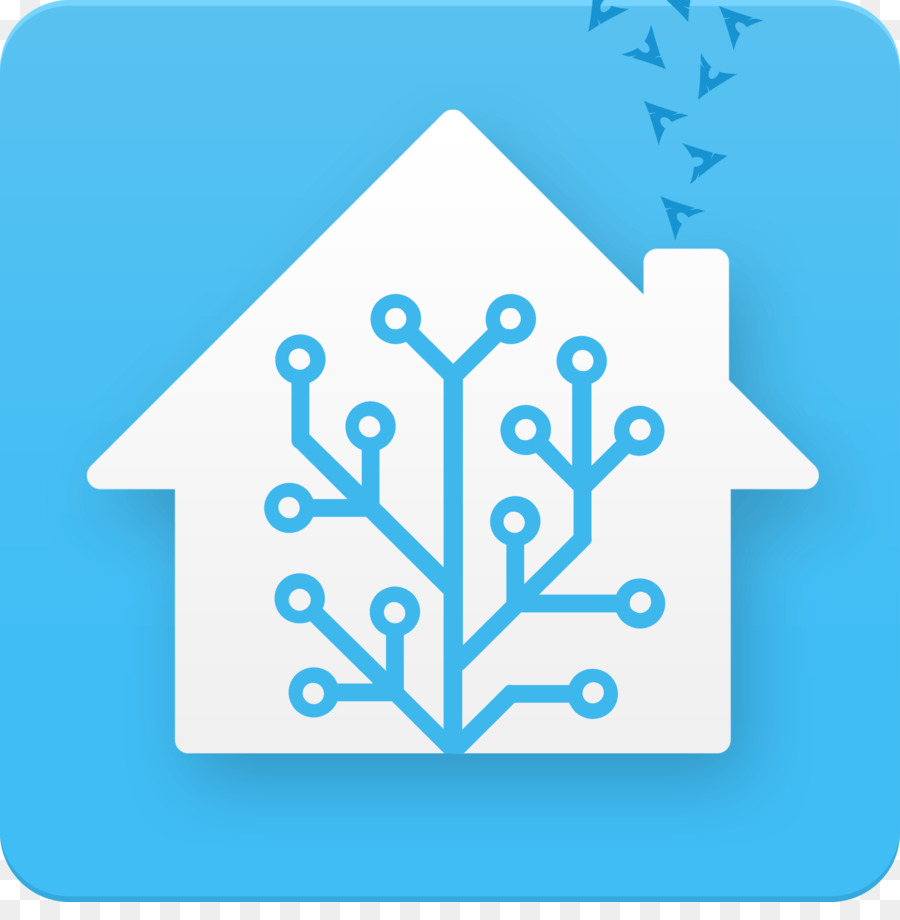 Home Assistant Blue png download - 1896*1900 - Free Transparent Home