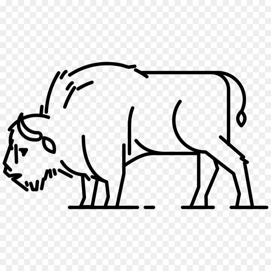 Bison bonasus búfalo búfalo Africano libro para Colorear bisonte ...