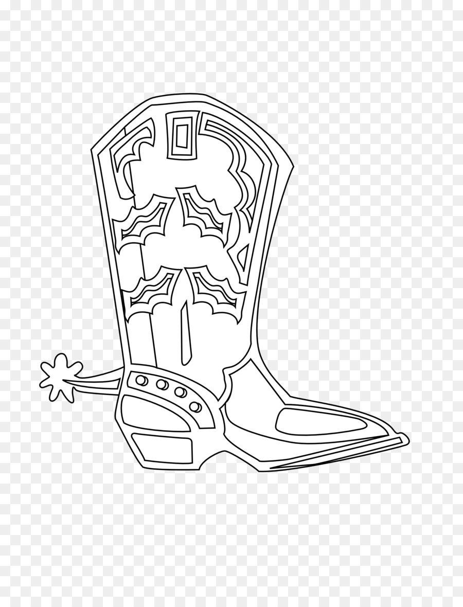 Bota de vaquero Zapato Calzado - botas de vaquero Formatos De ...