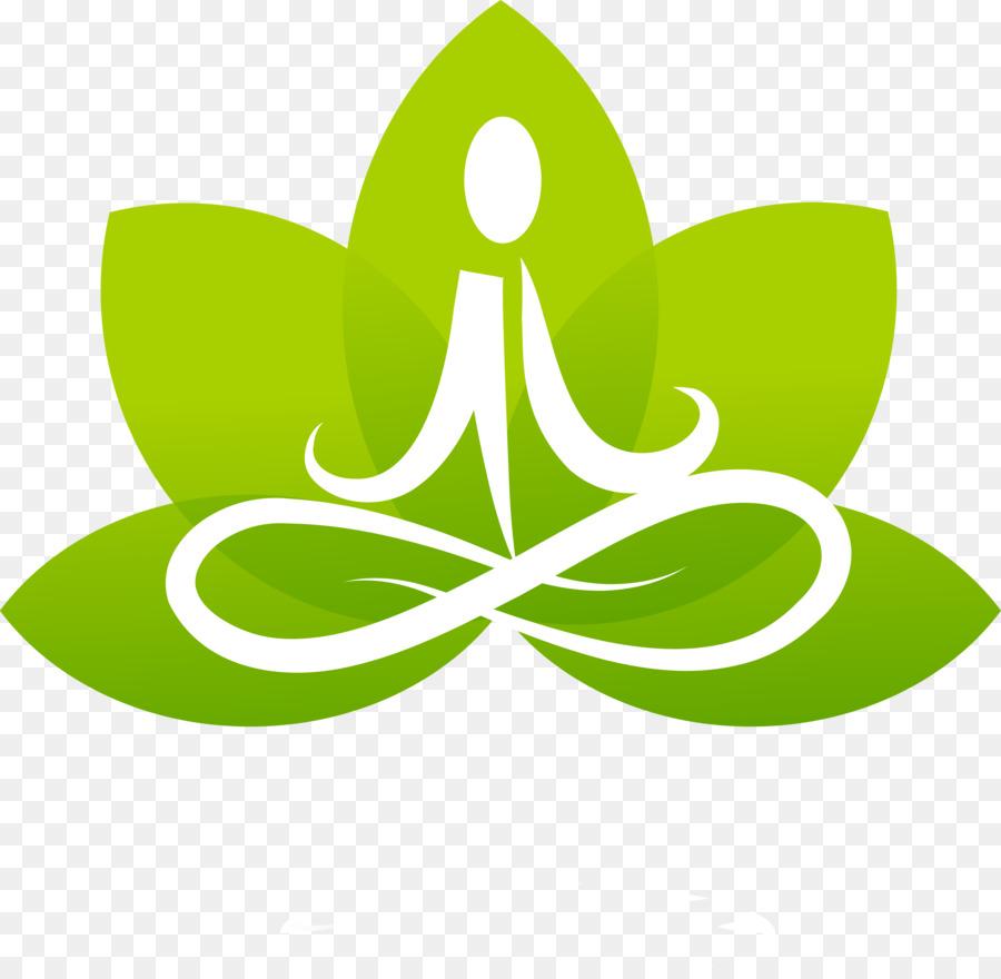 Lotus Position Yoga Logo