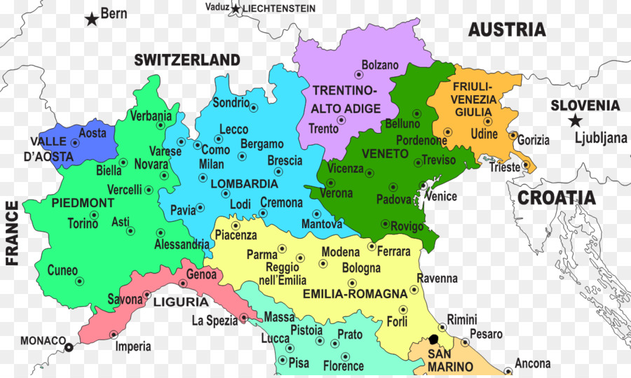 Regions of italy northern italy udine lombardy map italy png regions of italy northern italy udine lombardy map italy gumiabroncs Choice Image