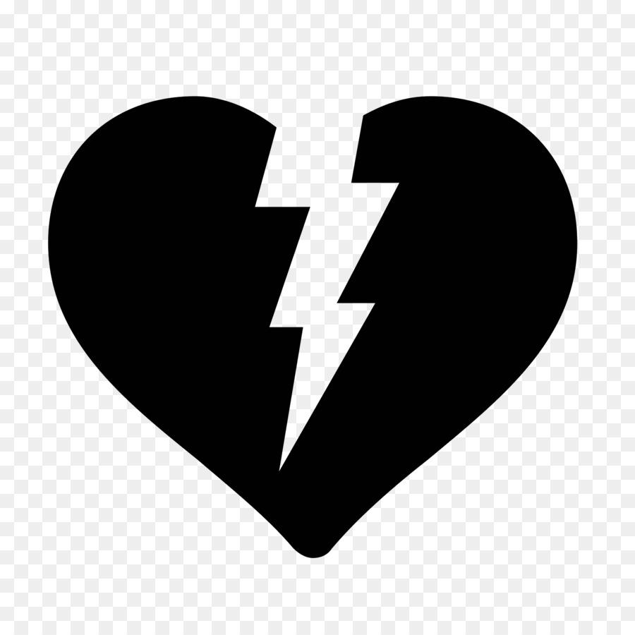 Broken Heart Symbol Computer Icons Heart Emoji Png Download 1600