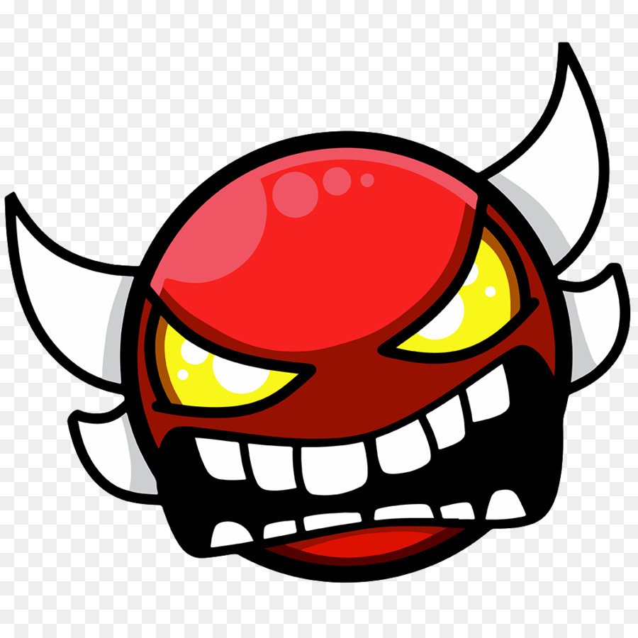 Geometry Dash Demon Youtube Robocop Png Download 10001000
