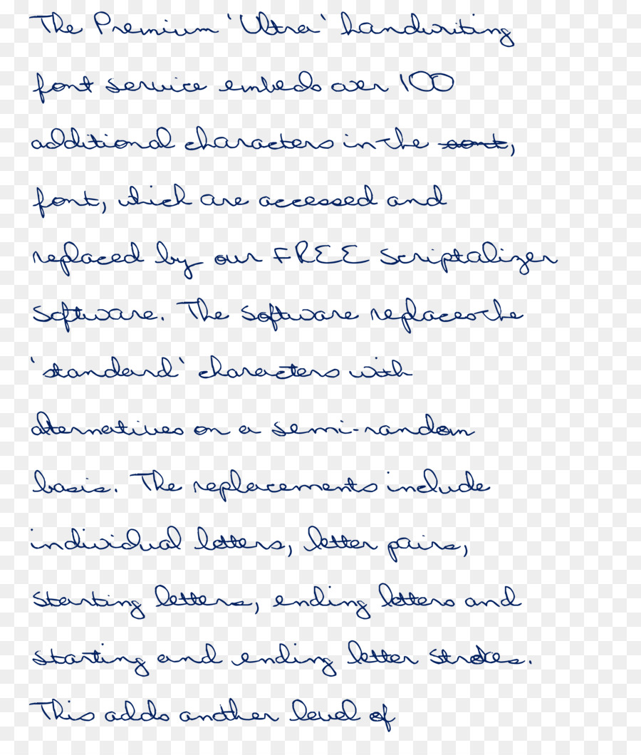 Handwriting Cursive Document Calligraphy Font