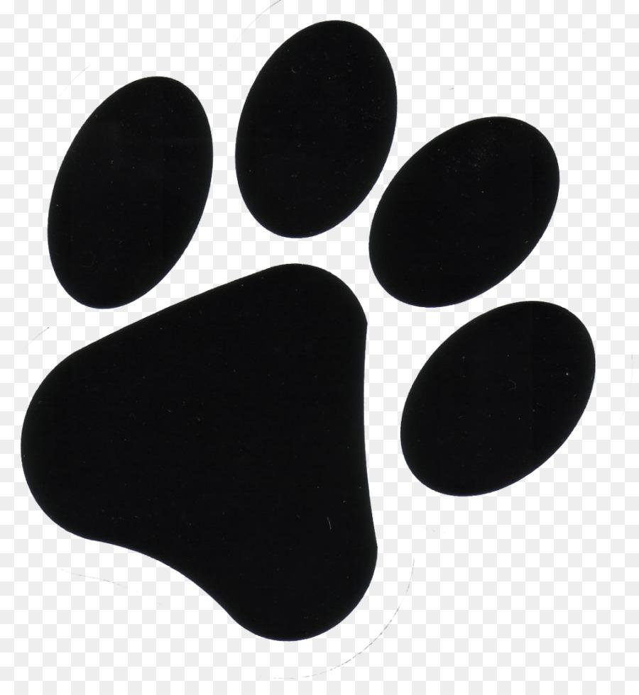Small Dog Print Clip Art