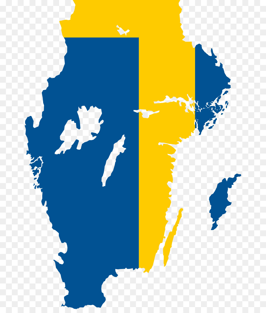 Flag of Sweden Blank map - euro png download - 732*1047 - Free ...