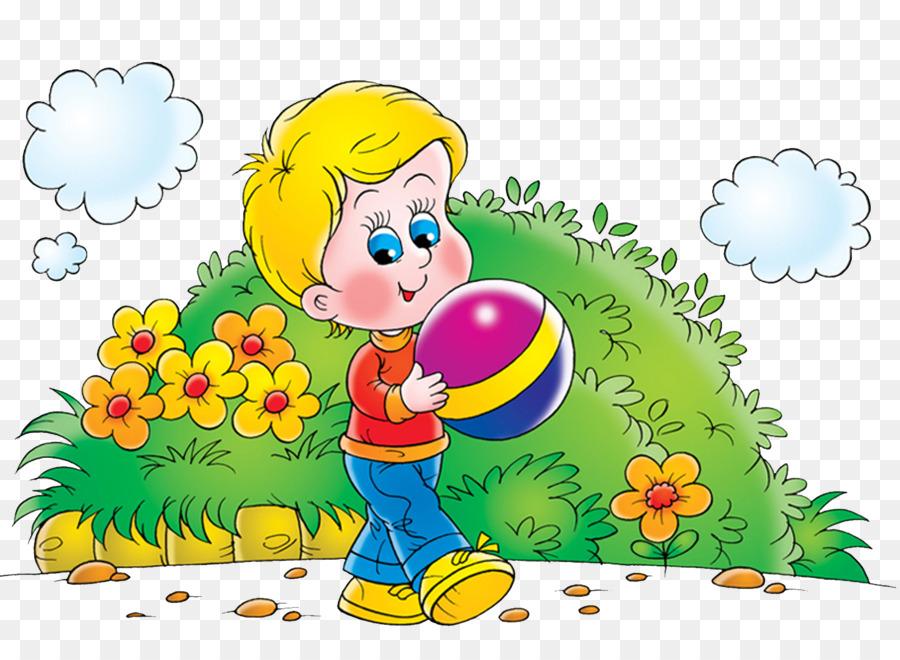 Картинка для детей дети летом