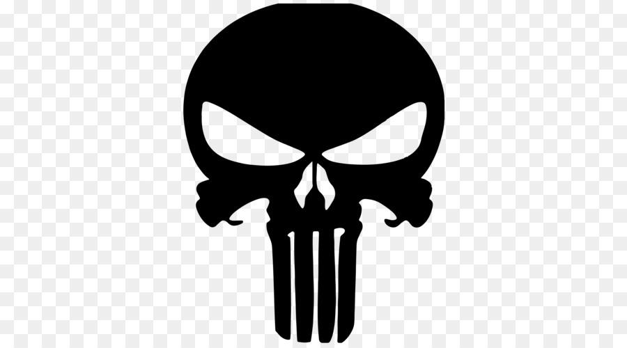 Punisher Stencil Iron Fist Black Widow Donald Trump Png Download