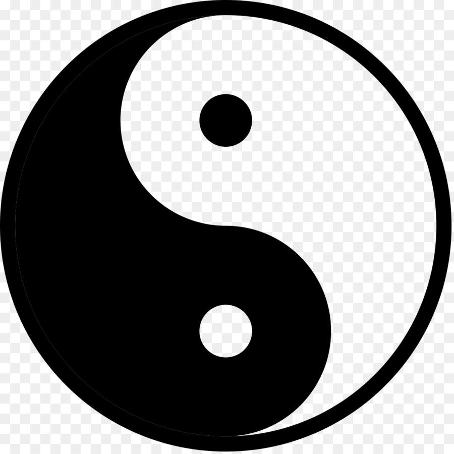 Yin 2my Yang Yin And Yang Fashion Pleat Taoism Lucky Symbols Png