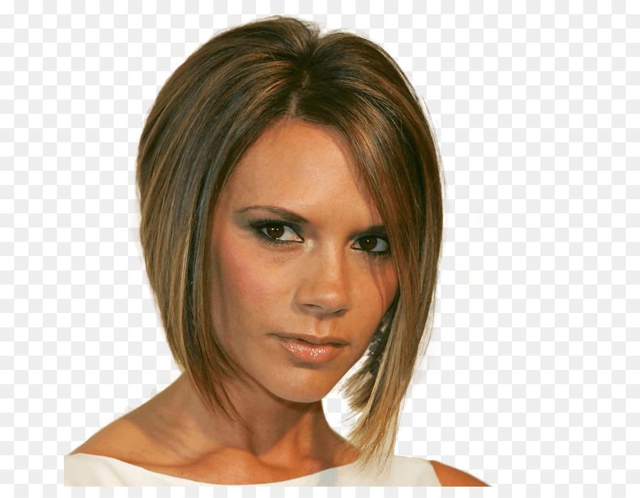 Victoria Beckham Bob Schnitt Frisur Mode Frauen Haar Png